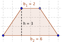 Area of a trapezoid mathvillage area of a trapezoid how to find ccuart Choice Image